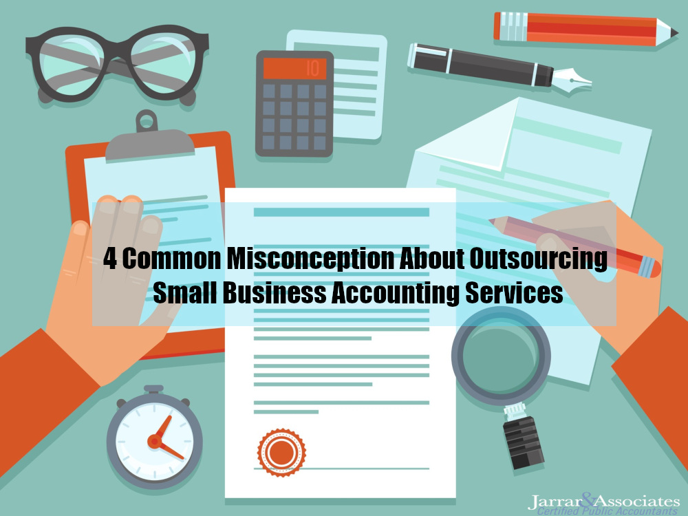 Common Myths About Outsourcing Accounting Services for small business