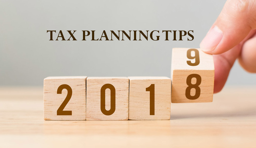 Tax planning tips for 2019