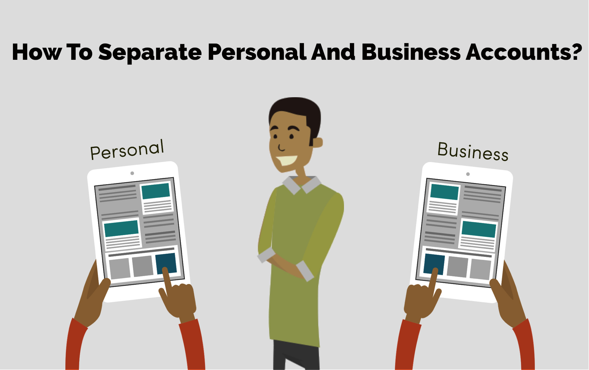 seperate-business&personalāccount