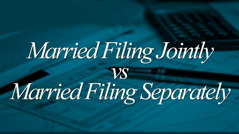 Married Filing Tax Jointly Vs Separately