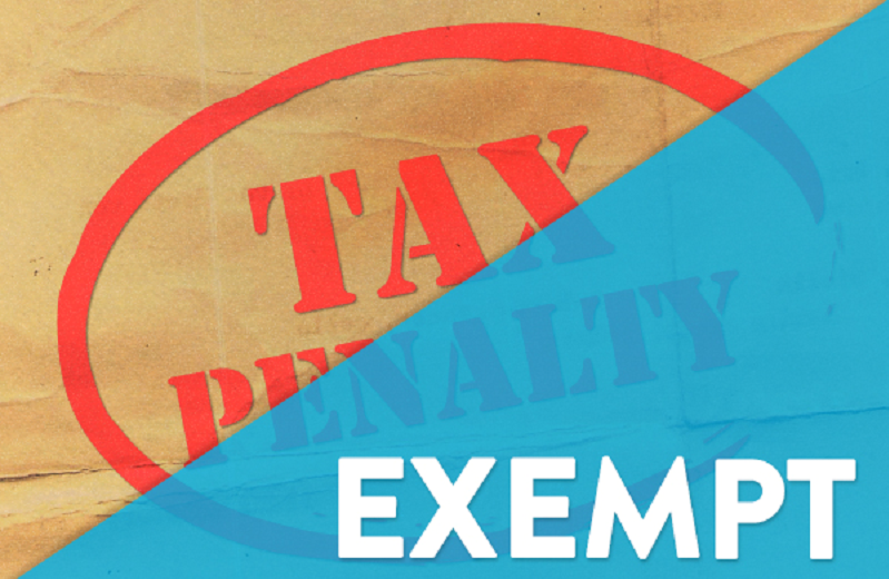 Tax Penalty Relief