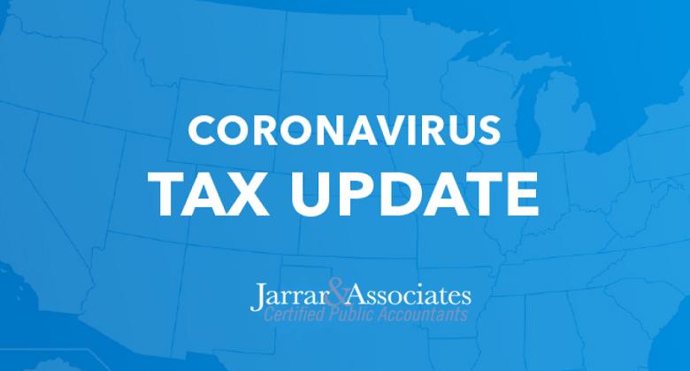 Coronavirus Tax Updates