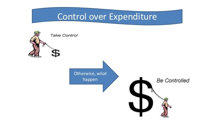 Control the Expenditure