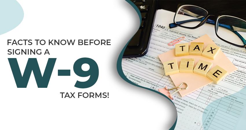 w-9 tax forms
