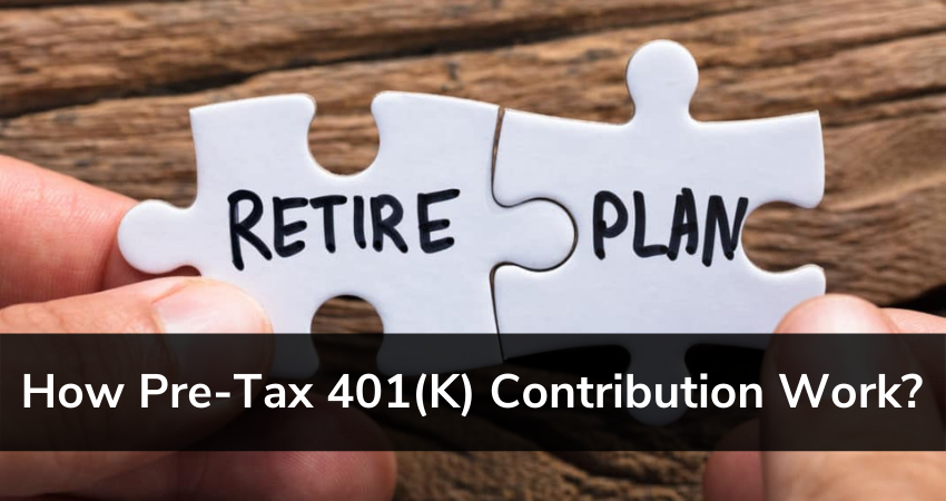 pre-tax 401(k) contribution