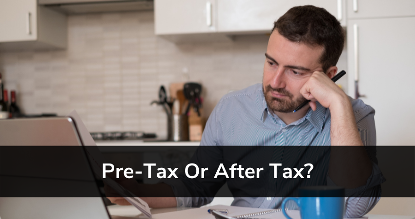 pre tax or after tax