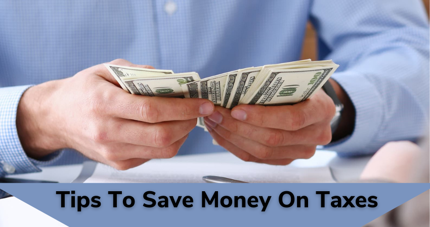 tips to save money on taxes